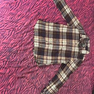 The North Face Women's Large Flannel Shirt